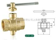 黄铜锁闭测温球阀Q11F