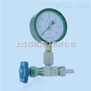 配套螺母焊接式压力表针型阀