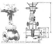 SCZG閘閥廠家直銷-DKZ940H、DKZ940Y、DKZ960Y 型 PN16~PN63 電動真空閘閥