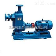 ZW型铸铁卧式化工离心泵 自吸式化粪池污水小颗粒抽